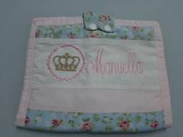 Porta fraldas nome Manuella