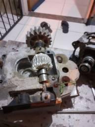 Instalação e manutenção de motor deslizante