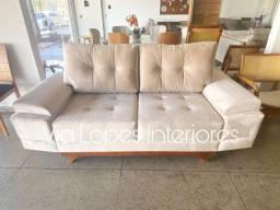 Sofa Larissa de 2 metros aqui no Via Lopes Interiores wpp 62 9  *