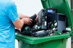 Recolhemos seu lixo eletrônico