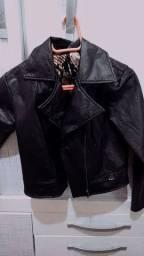 Jaqueta imitação couro