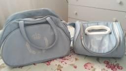 Conjunto de Bolsas Infantis Bebê Menino Azul