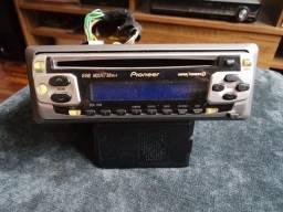 Som Automotivo Pioneer DEH-1550. Completo. Funcionamento Perfeito. Excelente!