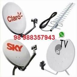 Instalação antenas