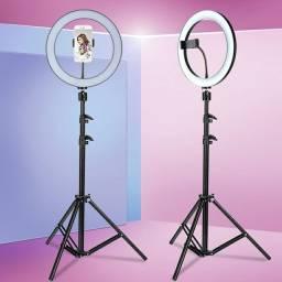 Iluminador profissional para fotos e filmagens