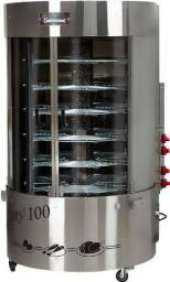 máquina de frango giratória gastromaq 100