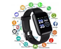 Relógio inteligente Smartwatch 116 plus - O mais completo da categoria