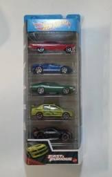 Pack de 5 Hot Wheels - Velozes e Furiosos 2021 - GTN40