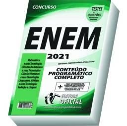 Combo 2 apostilas atualizadas ENEM 2021
