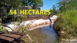54 Hectares Fazendinha Propriedade bem localizada apenas 2 KM do Asfalto