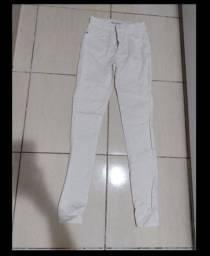Calça jeans coz alto