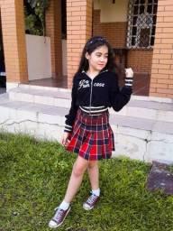 Saia school girl chego em estilo kawaii