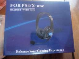 Headset para PS4/Xbox one.