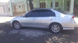 Honda Civic 2005 prata