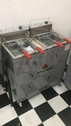 Fritadeira elétrica água e óleo