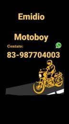 Motoboy entregador  é só ligar ou ZAP respondo chat