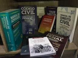 Kit livros do curso de direito, novos