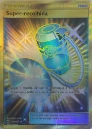 Oferta! Carta Pokémon Treinador Super-recolhida Item 166/147