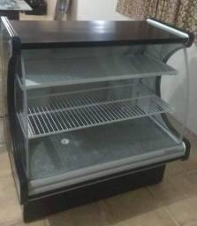 Balcão Refrigerador e Expositor Gelopar vidro curvo 110V