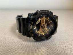 Relógio Casio Gshock ga-110gb-1adr Preto e Dourado original