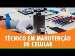 Manutenção em celular e tablet