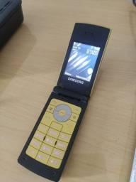 Celular Samsung antigo funcionando