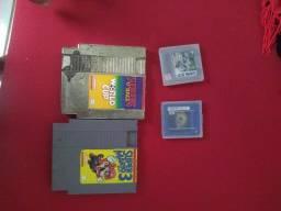 Vendo jogos de nintendinho e game boy