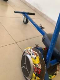 Hoverboard com cadeirinha