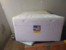 2 Caixa de isopor 80 e 175 litros