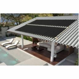Título do anúncio: Kit Aquecedor Solar Piscina 7,2 m2 (02 Placas 3m)