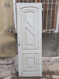 porta social madeira maciça sala anos 50 objeto demolição
