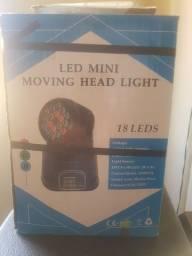 Mini Moving head  18 leds