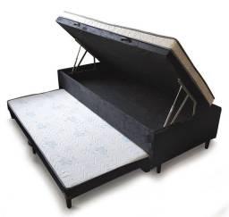 Quarto cama solteiro com cama auxiliar ZAP *
