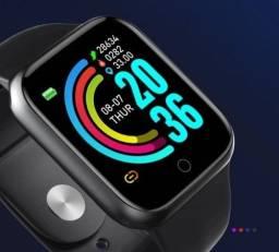 Smartwatch D20 Relógio Inteligente Bluetooth Preto