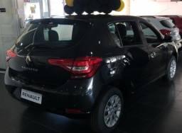 Renault Sandero 1.0 2021 0km com Ent R$ 20.000 + 36x de R$ 1.352,00 + parcela final