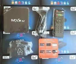 Tv box mx9 64gb de memoria 4gb de RAM 5G android 10.