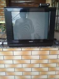 Tv de tubo Toshiba com conversor