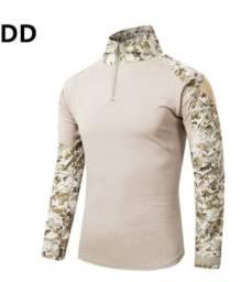 Camisa camuflada de verão (manga comprida) (Tamanho XL)