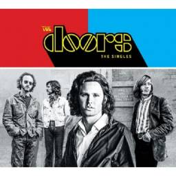 Cd - Duplo - The Doors - ( The Singles ) - Digipack-lacrado