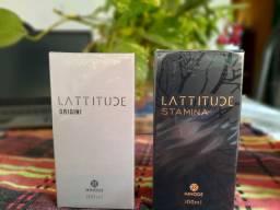 Perfumes Lattitude Origini e Lattitude Stamina... R$130,00 a unidade