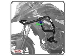 Protetor de motor e careinagem moto honda cb 300