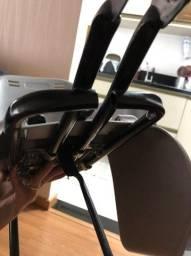 Cadeirinha traseira bicicleta
