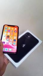 IPhone 11 com caixa nota e carregador  64gigas Face ID ok