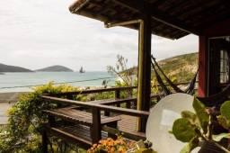 Casa vista para o mar a 5 minutos da Praia dos Anjos