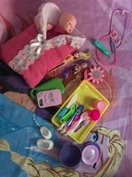 Lote Menina brinquedos $55
