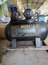 Compressor 10 pés 140 libras