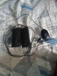 Caixinha de som para Pc, e malse