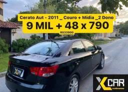 Cerato Ex 1.6  Automatico  - 2011 _ Completo + Couro_ Pouco Rodado _ 2 Dono