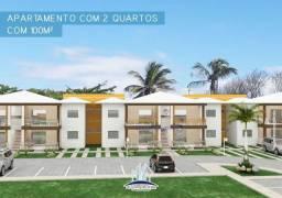 Apartamento com 2 dormitórios à venda, 100 m² por R$ 485.000 - Praia do Mutá - Porto Segur