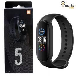 Relógio Inteligente Pressão Smartband Smartwatch Cardíaco M5